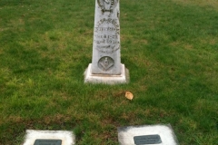 Cemetery tour pic3 Walter Murray grave marker